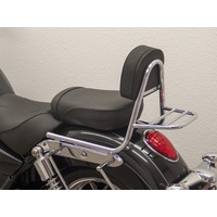 Sissy Bar with pad and carrier for the Commander/LT