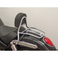 Solo Sissy Bar with pad and carrier for the Commander/LT