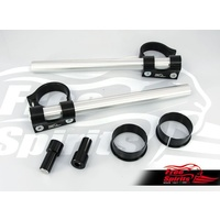 Clip ons for fork diameter 52/54 mm for Triumph Thruxton R and Speed Triple 1050