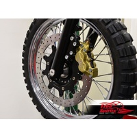 Brembo 4 pot front brake kit with disc
