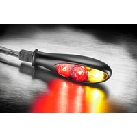 Micro S DF Dark Dual LED Indicators (Pair)