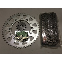 X Ring Chain and Sprockets Kit