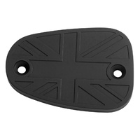 UNION JACK DISC BRAKE OIL RESERVOIR MASTER CYLINDER CAP - BLACK
