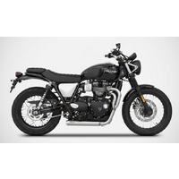 "Zard ""Cross"" 2 into 1 Full System for the Street Scrambler"