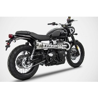 Zard Limited Edition 2 into 1 Full System for the Street Scrambler