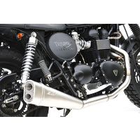 Zard 2-1 Sport for the Bonneville, Thruxton & Scrambler